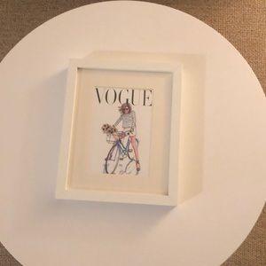 Vogue aquarela